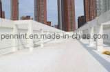 Waterdicht makende Blad van de dubbel-Kleur van de polyester het Glassfiber Versterkte van pvc