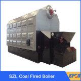 Grande chaudière à vapeur de charbon industriel de double tambour pour l'industrie