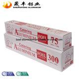 Papel de aluminio casero del uso del surtidor de China/del abastecimiento de la fábrica