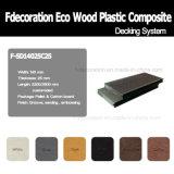 Plancher extérieur composé en plastique en bois du Decking WPC d'Eco