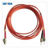 Cordon de connexion duplex de fibre optique de ST/PC LC/PC millimètre