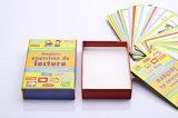 Твердая бумажная коробка с карточками изображения