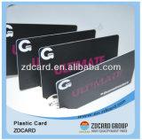Scheda di plastica pagata anticipatamente del regalo del codice a barre di stampa in offset