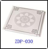 Pared interior Revestimiento de madera, Acabado Diseño de techo Material del techo, panel de PVC (ZDP-028, ZDP-029, ZDP-030)
