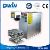 машина маркировки лазера волокна частей металла 20W портативная для сбывания