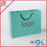 Sacs à provisions de papier réutilisés par coutume avec le logo d'impression