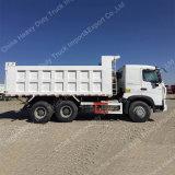HOWO A7 6X4 380hp Euro2 estándar del camión volquete