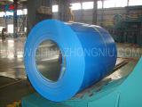 青いカラーによって塗られるGalvalumeの鋼鉄コイル