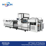 Double papier latéral de Msfm-1050e gravant la machine feuilletante automatique