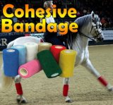 Vendaje cohesivo elástico veterinario equino del caballo del abrigo del veterinario