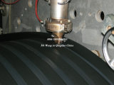 Tubulação da bobina da parede da cavidade do grande diâmetro do HDPE que faz a máquina