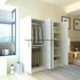 Preiswerter beweglicher Schlafzimmer-Großhandelswandschrank-hölzerner Garderoben-Schrank-Preis