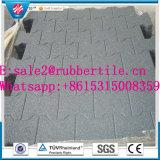 Mattonelle di pavimento di gomma della stuoia di gomma esterna pavimentazione dell'interiore/della famiglia