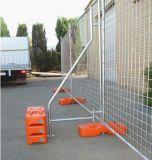 Гальванизированная портативная временно загородка/временно ограждать