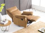 Présidence moderne en cuir de sofa de loisirs de meubles de l'Italie (774#)