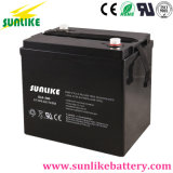 Batterie d'acide de plomb rechargeable 6V100ah pour le réverbère solaire