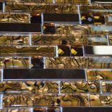 Плитка стекла мозаики хорошего зеркала золота сбывания кристаллический