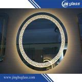 Specchio ovale di trucco del LED con l'ingrandimento