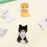 Cartoon Cat Dog Sticky Notes School Supplies Memo Pad