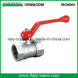 Le laiton de vente en gros de qualité de l'Europe a modifié le robinet à tournant sphérique (AV-BV-1045)