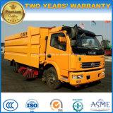 prix de camion de balayeuse de route de la balayeuse 7000L de 120HP LHD