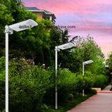 6watt tutto in un indicatore luminoso solare del cortile del giardino della via del LED