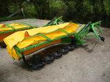 Установленная трактором роторная косилка диска, косилка диска