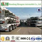 De Fabrikanten van de aanhangwagen verkopen Semi Aanhangwagen van het Bed van de Vrachtwagen van de Aanhangwagen Lowboy de Lage