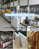 Maquinaria plástica de piedra de mármol de la protuberancia del perfil del PVC que hace la línea