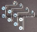 Inferriata/parti/morsetti/montaggi/componenti/accessori/clip di vetro della guida