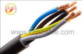 Cabo dos cabos de controle 450/750V~0.6/1kv, PVC de cobre Flame-Retardant do condutor isolado e fita de aço da bainha blindada