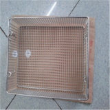 Steel di acciaio inossidabile Crimped Wire Mesh per Baskets