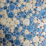泡台所のための円形の磁器のモザイク