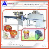 Máquina de empacotamento automática do Shrink do calor do selo de 3 lados