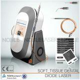 Laser macio dental do tecido para os dentes que Whitening