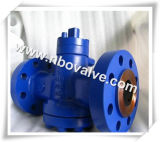 "API 599/API 6D Worm Gear Jacketed Plug Valves (pn3-8 "")"