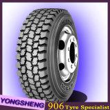 El carro resistente cansa marca de fábrica de 385/65r22.5 Doupro todo el neumático radial de acero