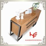 Vector de té moderno del vector de consola del vector de los muebles del vector del aparador (RS160601) de la mesa de centro del acero inoxidable de los muebles del hogar de los muebles de los muebles laterales del hotel
