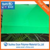 녹색 매트 플라스틱 PVC 필름 롤 PVC 엄밀한 장
