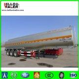 De Aanhangwagen van de Vrachtwagen van de Olietanker van de tri-As van het roestvrij staal