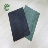 Сплетенный гуммированный слой на изнанке ковра PP ткани главным образом для ковра (Pb2813-Green)
