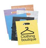 高品質のポリ袋の穴あけ器が付いているニースの印刷のショッピング・バッグ
