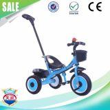 Bici del triciclo del bebé con el empujador de la fábrica del juguete del triciclo de niños