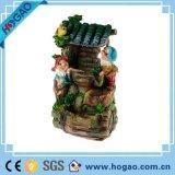 Figurine molto seguito dal pubblico del coniglio della resina della decorazione del giardino di Polyresin
