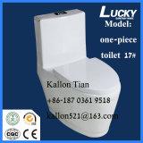 床-衛生製品の取付けられたワンピースの浴室の洗面所