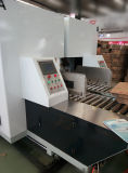 Automatischer gewölbter Kasten, der Maschine klebend sich faltet