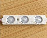 Módulo blanco de la inyección principal LED de la producción 12V SMD 2835 para hacer publicidad del rectángulo de la muestra