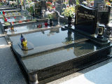 工場価格の洞窟を作られた花こう岩の墓碑の墓石