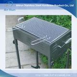 Metal perfurado do furo quadrado para a prateleira do mercado