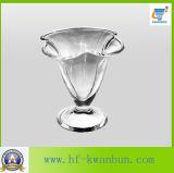 Articoli per la tavola Kb-Hn0146 della ciotola di vetro del gelato di alta qualità